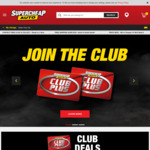 30% off Regular Price (Including Special Orders, Excludes Service / Tyres) at Super Cheap Auto (for Club Members)