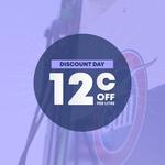Gull Discount Day - $0.12 off Per Litre