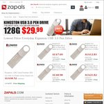 Kingston 8GB -128GB USB3.0 Pen Drive for NZD ~$8.50 - $42.53 Free Shipping on Zapals.com