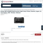 Brother MFCJ5320DW Printer $149.96 Delivered @ Computer Store (Free after $150 Cashback)