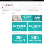 Farmers Little Big Sale - Half Price Nursery