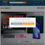 "Pre Order The LG G7 @ PB Tech and Get a BONUS 43"" TV $1,199 - SOLD OUT"