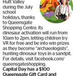 Win a $100 Queensgate Gift Card and Dinosaur Goodie Pack from The Dominion Post (Wellington)