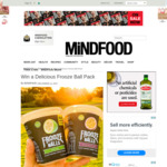 Win 1 of 3 Frooze Balls Prize Packs from Mindfood