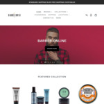 20% off Sitewide, Free Delivery Over $99.00 @ Barber House