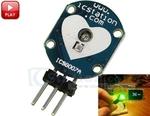 ICStation Heartbeat Sensor $4.50, Simple Mini Flashlight DIY Kit $1.5, XKC-Y25-NPN Non-Contact Liquid Level Sensor $4.65