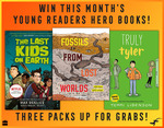 Win 1 of 3 July Collections of HarperCollins Young Readers Hero Books from Kidspot
