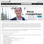 Book and Win an LA Experience with Air NZ