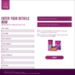 Free Pack of Poise Pads