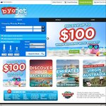 $30 off International Flight Bookings @ Byojet