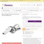 Black & Decker PV 1820L - $167.99 @ Farmers