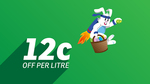 12 Cents off Per Litre - Easter Fuel Special @ Gull