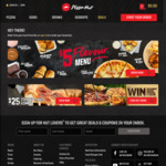 Upgrade Any Pizza or Deal for Free to XL Hack @ Pizza Hut