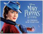 Win Return Flights for 2 to London, 4nts Hotel, $1000, Mary Poppins Returns Activity-Packed Tour @ The NZ Herald