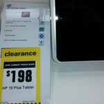 HP 10 Plus 16GB Tablet $198 at Warehouse Stationary East Tamaki