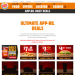 Daily Deals: 4/4: Reese's Pie $3, 5/4: BK Chicken $4 + More @ Burger King