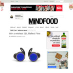 Win JBL Reflect Flow Headphones (Worth $250) from Mindfood