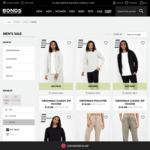 Mens Original Zip-up Hoodie or Pullover (Black or Grey) ~AU$10.45 Delivered (Was $69.99, Requires New Account) @ Bonds AU
