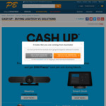 $100 Prezzy Card with each selected Logitech product @ PB Tech