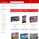 $1 off Every $10 Spent on LEGO Toys @ The Warehouse