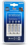 Eneloop Quick 2hr Battery Charger + 4x AA Rechargeable Batteries $27.44 @ Dick Smith