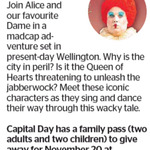 Win a Family Pass to Alice in Wellington from The Dominion Post