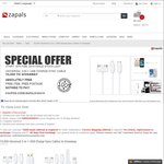 Free Universal 3 in 1 USB Charge Sync Cable Delivered from Zapals (New Registrants)