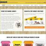 [Pet Food Voucher] Free $6 Voucher by Signing up to The Jimbo's Database