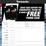Free Emirates Team New Zealand Phone Case @ Torpedo7