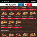 Gourmet Range Pizzas $6ea (3pm-4pm Today Only) @ Domino's