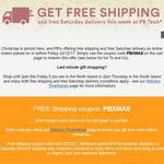 PB Tech Free Shipping Min Spend $100
