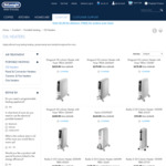50% OFF Oil Heaters & up to 50% off Panel Heaters @ DeLonghi with Free Delivery