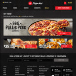 FREE Large Fries When You Spend $8 Online at Pizza Hut