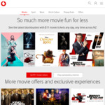 Vodafone Rewards - $11 Tickets for Event Cinemas (or $14 Tickets Friday & Saturday Nights after 5pm and Public Holidays)