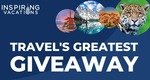 Win 1 of 7 Travel Packages from Inspiring Vacations