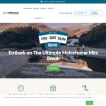 3 Day Weekend All Inclusive Motorhome Rental $949 @ Wilderness Motorhomes