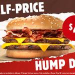 Bacon Double Cheese Burgers Half Price $4.00 @ Burger King