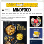 Win 1 of 5 copies of My Indian Kitchen by Ashia Ismail-Singer from Mindfood