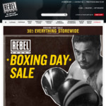 30% off Storewide @ Rebel Sport