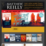 [eBook] Free: Matthew Reilly - Roger Ascham & The Dead Queen's Command @ Google Play, Apple Book Store, Kobo, Direct Download