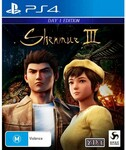 [PS4] Shenmue 3 Day One Edition $10 @ EB Games