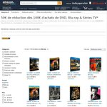 €50 off €100 Spend on Blu-Ray & DVD @ Amazon France