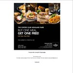Buy 1 Meal, Get One Free @ Coffee Club, Highland Park