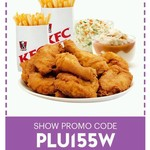 Sky Perks App - KFC Family Fiesta $26.90 8pcs Chicken, 2x Chips, 1x Potato&Gravy, 1x Coleslaw