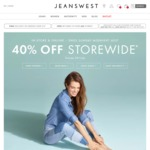 40% off Jeanswest 3 Days Only