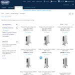 DeLonghi Official Website - 30% off Heaters & Dehumidifiers Plus Free Delivery