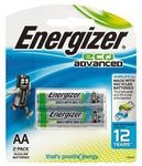 Energizer Eco Advance AA/AAA 2 Pack $1.97 @ The Warehouse