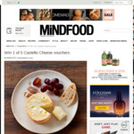 Win 1 of 5 $50 Castello Cheese Vouchers from Mindfood