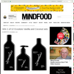 Win 1 of 12 Ecostore Vanilla and Coconut Sets from Mindfood