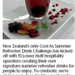 Win 1 of 2 Vouchers for a Citrus Breeze at Hot Gossip cafe and Summer Breeze T-licious at Cuff's from The Dominion Post (Welly)